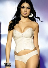 Ensemble corset Ivory